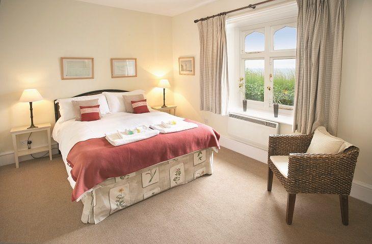 Landward bedroom