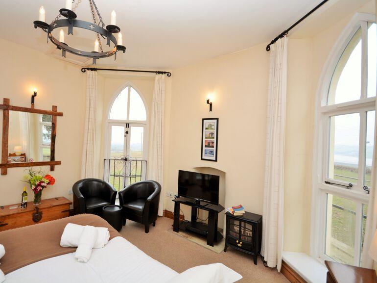 Watchtower living room