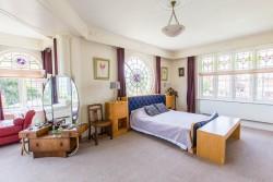 Art Deco House master bedroom