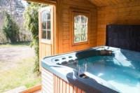 hot tub at Ralphs