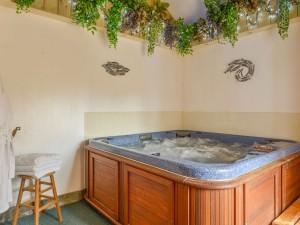 Tack Room Hot tub