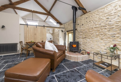 The Cowshed sitting room