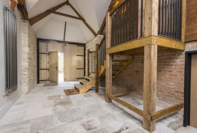 The Hayloft entrance