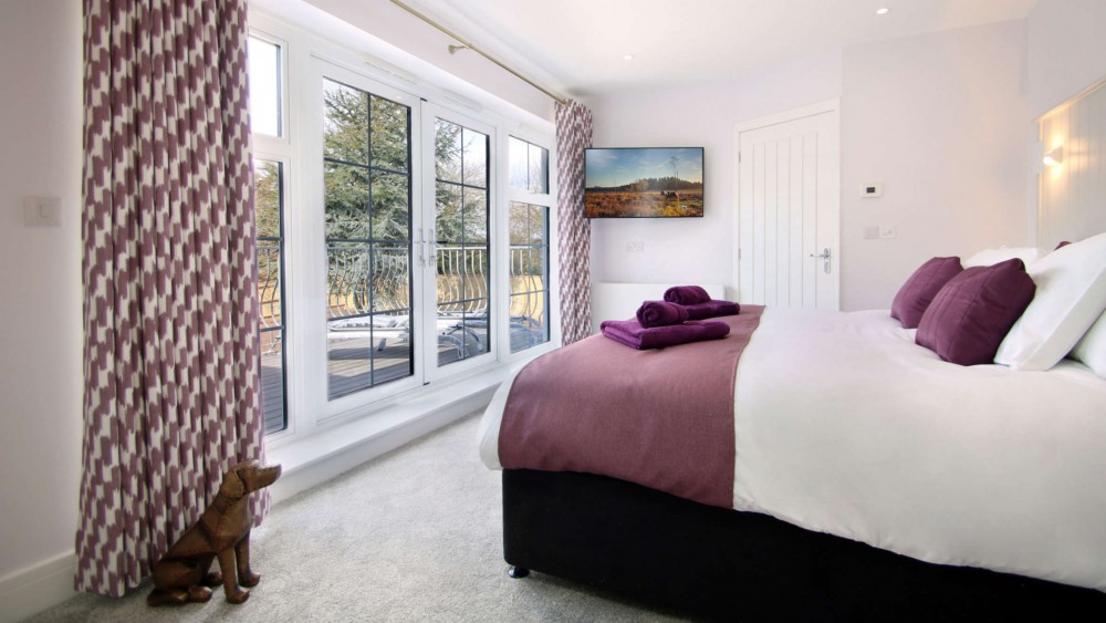 lavender house bedroom