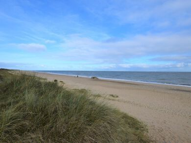 Caister beach
