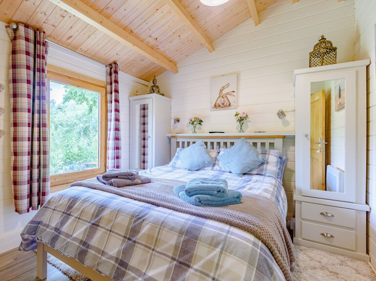 Willow End Lodge bedroom