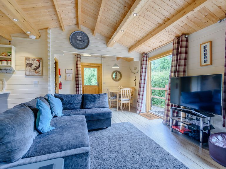 Willow End Lodge sitting room