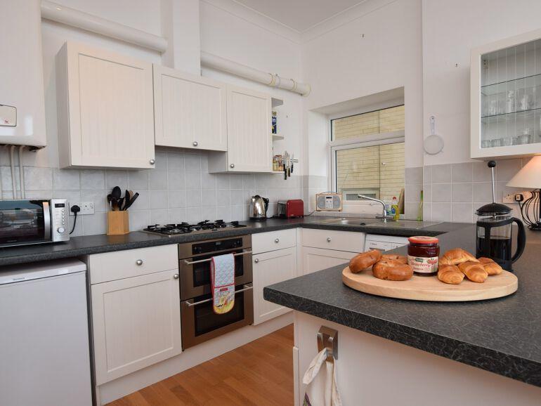 cliff view kitchen