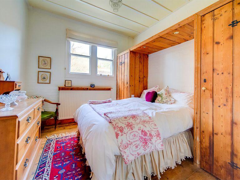 clocktower bedroom