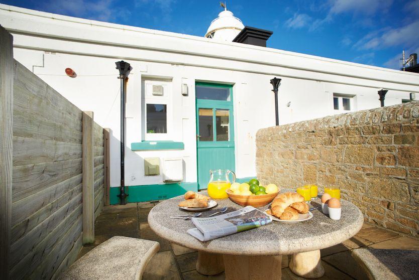 Solebay private patio